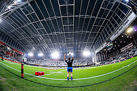 France's Camille Chat warms up for the Steinlager Series international rugby match between the New Zealand All Blacks and France at Forsyth Barr Stadium in Wellington, New Zealand on Saturday, 23 June 2018. Photo: Dave Lintott / lintottphoto.co.nz