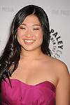"BEVERLY HILLS, CA. - March 13: Jenna Ushkowitz arrives at The PaleyFest 2010 Presents ""Glee"" at the Saban Theatre on March 13, 2010 in Beverly Hills, California."