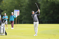 Jack Singh Brar (ENG) plays his 2nd shot on the 16th hole during Sunday's Final Round of the Northern Ireland Open 2018 presented by Modest Golf held at Galgorm Castle Golf Club, Ballymena, Northern Ireland. 19th August 2018.<br /> Picture: Eoin Clarke | Golffile<br /> <br /> <br /> All photos usage must carry mandatory copyright credit (&copy; Golffile | Eoin Clarke)