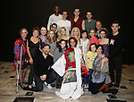 Shina Ann Morris and cast  attends Actors' Equity Broadway Opening Night Gypsy Robe Ceremony honoring Shina Ann Morris for  'Anastasia' at the Broadhurst Theatre on April 24, 2017 in New York City.