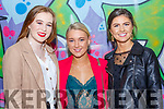Beale Lips Zipped: Attending the  Lips Zipped event at the Ballybunion Community Centre in  aid of Beale GAA on 28th December were Ali Cahill, Sophie Sugrue & Clodagh Hannon.