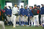 (L to R) .Masahiro Tanaka (JPN), . Koji Yamamoto (JPN), .MARCH 1, 2013 - WBC : .2013 World Baseball Classic .Japan team training .in Fukuoka, Japan. .(Photo by YUTAKA/AFLO SPORT)