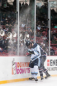 Brendan Robbins (Maine - 22) - The University of Maine Black Bears defeated the University of Connecticut Huskies 4-0 at Fenway Park on Saturday, January 14, 2017, in Boston, Massachusetts.