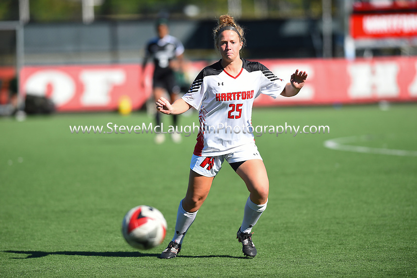 Led by a five-point outing from senior midfielder Tori Tripp, the University of Hartford women's soccer team toppled Binghamton, 5-0, in both teams' America East openers on Sunday. Tripp had a hand in each of the Hawks' final three scores with an assist and a pair of goals over the match's final 11:22  to pace the Hawks in the offensive explosion.