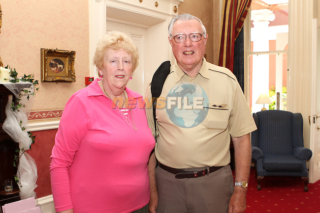 Eithne and Christopher Doggett at the Retirement Party for Nuala Early in The Boyne Valley Hotel...(Photo credit should read Jenny Matthews www.newsfile.ie)....This Picture has been sent you under the conditions enclosed by:.Newsfile Ltd..The Studio,.Millmount Abbey,.Drogheda,.Co Meath..Ireland..Tel: +353(0)41-9871240.Fax: +353(0)41-9871260.GSM: +353(0)86-2500958.email: pictures@newsfile.ie.www.newsfile.ie.
