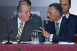 03.10.2012. VIII COTEC Europe Meeting, co-chaired by King Juan Carlos of Spain, the President of the Italian Republic, Giorgio Napolitano, and the President of the Portuguese Republic, Aníbal Cavaco Silva, at the Royal Palace of El Pardo, Madrid, Spain. In the image King Juan Carlos and Aníbal Cavaco Silva (Alterphotos/Marta Gonzalez)