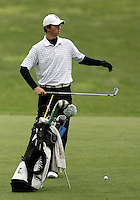 21 May, 2010: Loyola College's Patrick McCormick sets up for his chip shot on hole 11 during the first round of the NCAA West Regionals at Gold Mountain Golf Course in Bremerton, Washington.