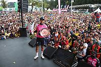 MEDELLIN - COLOMBIA, 17-02-2019:Iván Sosa del equipo Sky   quedó de subcampeón  del Tour Colombia 2.1 2019 durante la sexta etapa del Tour Colombia 2.1 2019 con un recorrido de 173.8 Km, que se corrió con salida en El Retiro  y llegada en Las Palmas, Antioquia. / Iván Sosa from the Sky team won the second place of the Tour Colombia 2.1 2019 during the sixth stage of 173.8 km of Tour Colombia 2.1 2019 that ran in El Retiro with start and arrival in Las Palmas, Antioquia.  Photo: VizzorImage / Eder Garces / Fedeciclismo Prensa / Cont