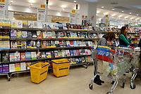 Roma, 5 Aprile 2017<br /> Libri al supermercato.<br /> Esselunga del prenestino.<br /> Apre il primo Superstore di Esselunga a Roma, in Via Palmiro Togliatti.