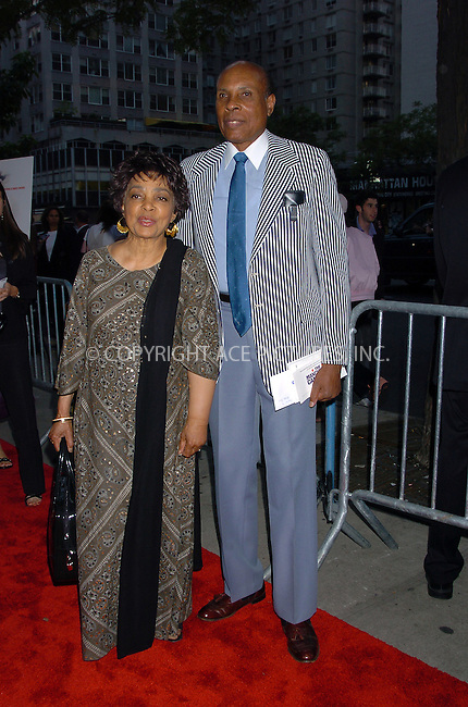 "Ruby Dee and guest at the premiere of ""The Manchurian Candidate."" New York, July 19, 2004. Please byline: AJ SOKALNER -- ACEPIXS.COM   .. *** ***..Ace Pictures, Inc:  ..Contact: Alecsey Boldeskul (646) 267-6913 ..Philip Vaughan (646) 769-0430..e-mail: info@acepixs.com"