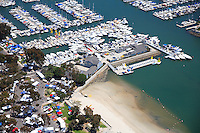Baby Beach and the Youth & Group Center and Public Docks at the Dana Point Harbor