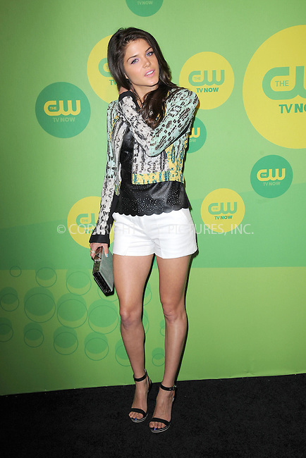 WWW.ACEPIXS.COM . . . . . .May 16, 2013...New York City....Marie Avgeropoulos attending The CW Network's New York 2013 Upfront Presentation at The London Hotel on May 16, 2013 in New York City ....Please byline: KRISTIN CALLAHAN - ACEPIXS.COM.. . . . . . ..Ace Pictures, Inc: ..tel: (212) 243 8787 or (646) 769 0430..e-mail: info@acepixs.com..web: http://www.acepixs.com .