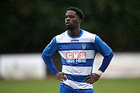 Yemi Adelani of Ilford during Ilford vs Walthamstow, Essex Senior League Football at Cricklefields Stadium on 6th October 2018