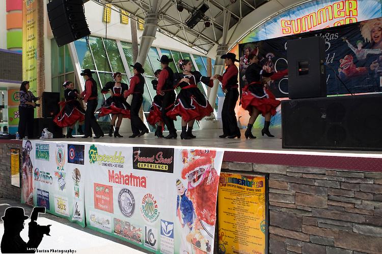 2009 Folk Cultural event on Fremont Street