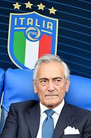 Gabriele Gravina president of Italian football federation FIGC <br /> Roma 11-10-2019 Stadio Olimpico <br /> European Qualifiers Qualifying round <br /> Italy - Greece day -1 training<br /> Photo Andrea Staccioli/Insidefoto