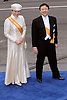 "30.04.2013; Amsterdam: KING WILLEM-ALEXANDER INAUGURATION.CROWN PRINCE NARUHITO AND PRINCESS MASAKO OF JAPAN.attend King Willem-Alexander's inauguration at Nieuwe Kerk, Amsterdam, The Netherlands, .Mandatory Credit Photos: ©NEWSPIX INTERNATIONAL..**ALL FEES PAYABLE TO: ""NEWSPIX INTERNATIONAL""**..PHOTO CREDIT MANDATORY!!: NEWSPIX INTERNATIONAL(Failure to credit will incur a surcharge of 100% of reproduction fees)..IMMEDIATE CONFIRMATION OF USAGE REQUIRED:.Newspix International, 31 Chinnery Hill, Bishop's Stortford, ENGLAND CM23 3PS.Tel:+441279 324672  ; Fax: +441279656877.Mobile:  0777568 1153.e-mail: info@newspixinternational.co.uk"
