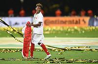 FUSSBALL  DFB POKAL FINALE  SAISON 2015/2016 in Berlin FC Bayern Muenchen - Borussia Dortmund         21.05.2016 DER FC BAYERN IST POKALIEGER 2016: David Alaba (FC Bayern Muenchen) jubelt mit der Oesterreichischen Fahne