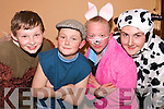 What a show: Pupils of the Ballyduff National School Ian Lawler, Darragh Daly, Brendan Gorman and Sean Browne who preformed at their school concert at the Ballyduff Community Centre on Wednesday night.