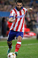 Atletico de Madrid´s Arda Turan during Champions League soccer match between Atletico de Madrid and Olympiacos at Vicente Calderon stadium in Madrid, Spain. November 26, 2014. (ALTERPHOTOS/Victor Blanco) /NortePhoto