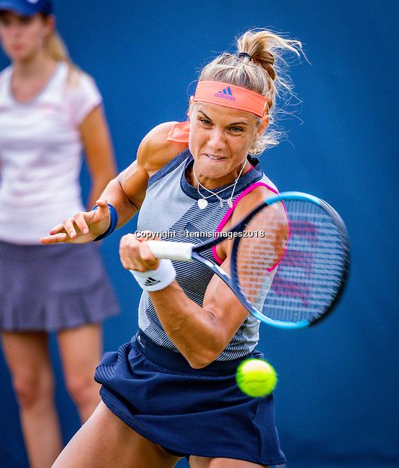 Den Bosch, Netherlands, 11 June, 2018, Tennis, Libema Open, Arantxa Rus (NED) <br /> Photo: Henk Koster/tennisimages.com