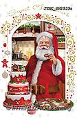 Marcello, CHRISTMAS SANTA, SNOWMAN, WEIHNACHTSMÄNNER, SCHNEEMÄNNER, PAPÁ NOEL, MUÑECOS DE NIEVE, paintings+++++,ITMCXM1939A,#X#