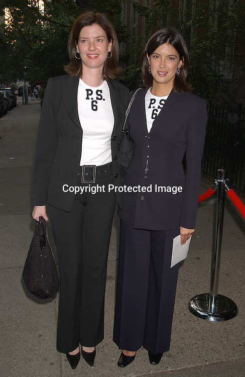 Phoebe Cates and sister Valerie Cates                                   ..at the Peter Cincotti benefit performance for PS 6 which was attended ..by many alumnis on June 11,2003. This event was to ..benefit the renovation of the PS 6 school library.Photo ..by Robin Platzer, Twin Images