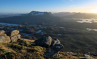 BNPS.co.uk (01202 558833)<br /> Pic: GeoffAllan/BNPS<br /> <br /> Majestic views in the northern highlands.<br /> <br /> Wilderness walks - new book takes you down paths less travelled in the beautiful Scottish highlands.<br /> <br /> The stunning photos reveal Scotland's best remote walks, and also provide a rudimentary roof over your head at the end of the day. <br /> <br /> Geoff Allan has spent over 30 years travelling the length and breadth of the scenic country, passing through idyllic and untouched landscapes.<br /> <br /> The routes he has selected feature secret beaches, secluded glens, hidden caves and mountains.<br /> <br /> They also include bothies - remote mountain huts - which provide overnight shelter in the wilderness.<br /> <br /> Geoff has listed his top 28 trails complete with GPS maps and descriptions in his book Scottish Bothy Walks.