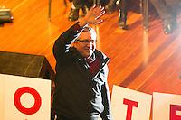 GUARULHOS, SP, 28.07.2014 - PLENÁRIA NACIONAL DA CUT - Alexandre Padilha, candidato do TP ao governo de São Paulo, durante a 14ª Plenária Nacional da CUT em Guarulhos, grande São Paulo, nesta segunda-feira, 28. (Foto: Geovani Velasquez / Brazil Photo Press).