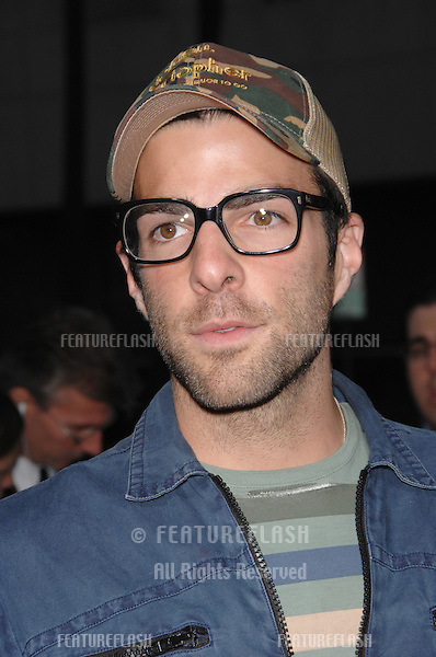 "Zachary Quinto at the Los Angeles premiere of ""Rendition"" at the Academy of Motion Picture Arts & Sciences Theatre, Beverly Hills..October 11, 2007  Los Angeles, CA.Picture: Paul Smith / Featureflash"