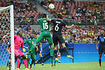 Tsukasa Shiotani (JPN), <br /> AUGUST 4, 2016 - Football / Soccer : <br /> Men's First Round Group B <br /> between Nigeria 5-4 Japan <br /> at Amazonia Arena <br /> during the Rio 2016 Olympic Games in Manaus, Brazil. <br /> (Photo by YUTAKA/AFLO SPORT)