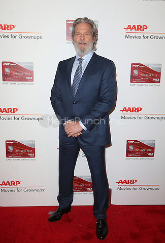 Beverly Hills, CA - FEBRUARY 06:  Jeff Bridges, At 16th Annual AARP The Magazine's Movies For Grownups Awards, At The Beverly Wilshire Four Seasons Hotel In California on February 06, 2017. Credit: Faye Sadou/MediaPunch