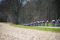 48th Amstel Gold Race 2013..disappearing peloton