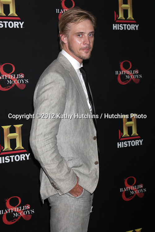 """LOS ANGELES - SEP 22:  Boyd Holbrook arrives at the """"HATFIELDS & McCOYS"""" Pre-Emmy Party. at SOHO Club on September 22, 2012 in West Hollywood, CA"""