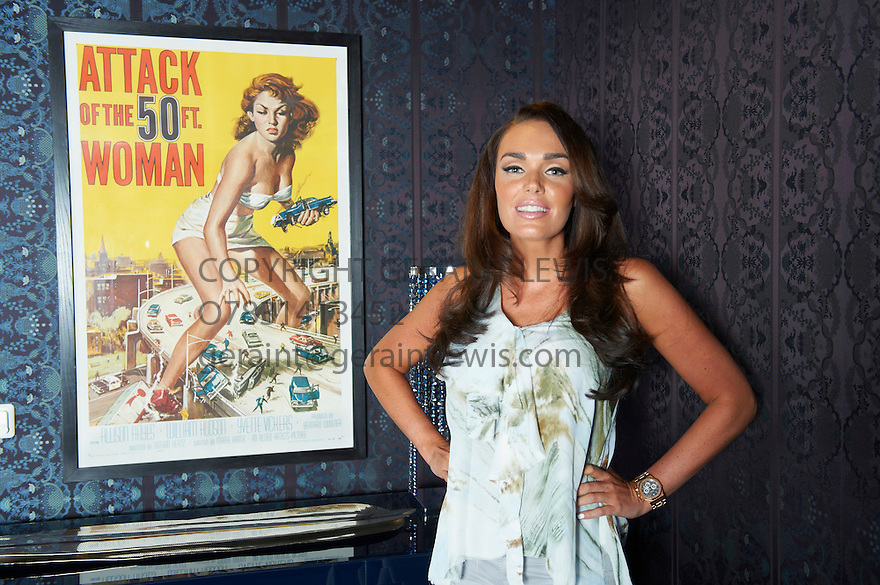 Tamara Ecclestone  at her home in Chelsea. Credit Geraint Lewis