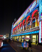 EUS- Boardwalk Hall 3D Light Show and Rolling Chairs, Atlantic City, NJ 9 13