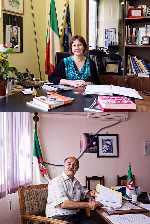 AUTOREVOLI PERSONE. <br /> Nadia Conticelli, presidente della circoscrizione 6<br /> Arab Masdoua, vicesindaco di At-Yanni.<br /> <br /> La pace di chi<br /> qualcosa sta facendo<br /> con calma<br /> senza presunzione<br /> con determinazione.<br /> <br /> Nello sguardo antico<br /> la pace di chi<br /> qualcosa ha già fatto<br /> con calma,<br /> senza presunzione.