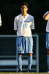 2 September 2007: North Carolina's Joan Carvajal. The University of North Carolina Tar Heels tied the Old Dominion University Monarchs 1-1 at Fetzer Field in Chapel Hill, North Carolina in an NCAA Division I Men's Soccer game.