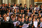 St Cuthbert's Christmas Carol Service, Auckland Cathedral, Auckland, New Zealand. Friday 1st December 2017. Photo: Simon Watts/www.bwmedia.co.nz
