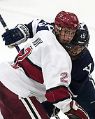 Tyler Moy (Harvard - 2), Evan Smith (Yale - 13) - The Harvard University Crimson tied the visiting Yale University Bulldogs 1-1 on Saturday, January 21, 2017, at the Bright-Landry Hockey Center in Boston, Massachusetts.