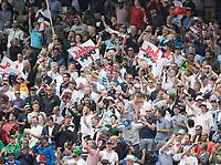 The Barmy Army during Australia vs England, ICC World Cup Semi-Final Cricket at Edgbaston Stadium on 11th July 2019