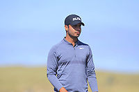 Shubhankar Sharma (IND) on the 10th during Round 2 of the Dubai Duty Free Irish Open at Ballyliffin Golf Club, Donegal on Friday 6th July 2018.<br /> Picture:  Thos Caffrey / Golffile