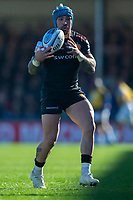 Exeter Chiefs' Jack Nowell<br /> <br /> Photographer Bob Bradford/CameraSport<br /> <br /> Premiership Rugby Cup - Exeter Chiefs v Bath Rugby - Sunday 24th March 2019 - Sandy Park - Exeter<br /> <br /> World Copyright © 2018 CameraSport. All rights reserved. 43 Linden Ave. Countesthorpe. Leicester. England. LE8 5PG - Tel: +44 (0) 116 277 4147 - admin@camerasport.com - www.camerasport.com