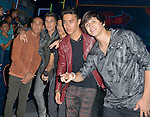 CORAL GABLES, FL - JULY 14: Christopher Velez, Zabdiel de Jesus, Joel Pimentel, Erick Brian Colon and Richard Camacho of CNCO attends the Univision's 13th Edition Of Premios Juventud Youth Awards at Bank United Center on July 14, 2016 in Coral Gablesi, Florida.  ( Photo by Johnny Louis / jlnphotography.com )