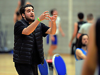 Action from the National Under-23 Basketball Championships Tournament men's match between Waitakere West A and Harbour at Te Rauparaha Arena in Porirua, New Zealand on Friday, 9 August 2019. Photo: Dave Lintott / lintottphoto.co.nz
