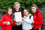 St Brigids Presentation Killarney girls after the Leaving Cert  English paper on Wednesday l-r: Lauren Rintoul, Elizabeth O'Connor, Olivia Machowska, Amy O'Callaghan