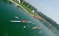 Beijing, CHINA, during the 2007. FISA Junior World Rowing Championships Shunyi Water Sports Complex. Wed. 08.08.2007  [Photo, Peter Spurrier/Intersport-images]..... , Rowing Course, Shun Yi Water Complex, Beijing, CHINA,