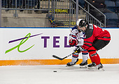 MEDICINE HAT, AB - Oct 31 2019: Canada Red vs USA during the 2019 World Under-17 Challenge at the Canalta Centre on Oct 31 2019 in Medicine Hat, Alberta, Canada. (Photo by Matthew Murnaghan/Hockey Canada Imaghes)