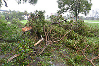 Damage from Hurricane Irma in Deerfield Beach, Fla. on September 10, 2017.