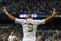 2011 Spanin La Liga Machtday 3st. Real Madrid vs Getafe Sep 10 st. Picture show Benzema.