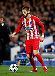 Atletico Madrid's Yannick Carrisco in action during the Champions League Group C match at the Stamford Bridge, London. Picture date: December 5th 2017. Picture credit should read: David Klein/Sportimage
